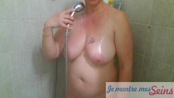 Photo des seins de Madame isa