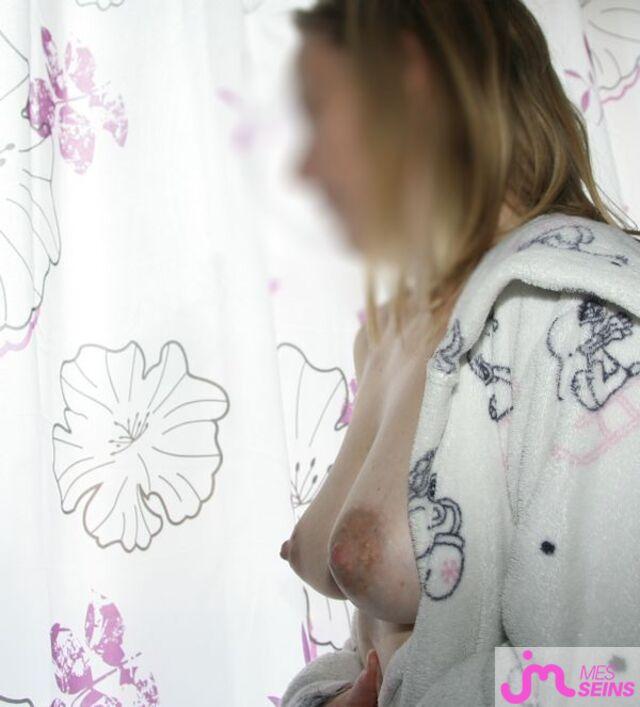 Photo des seins de Exquise