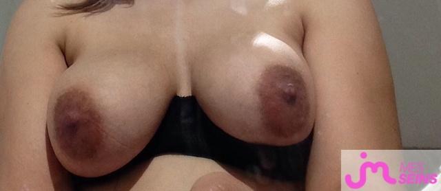Photo des seins de Minouenchaleur