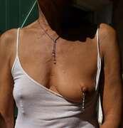 Photos des seins de Val tetons , mon nouveau bijoux