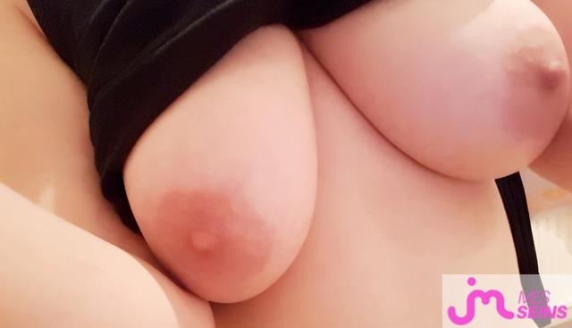 Photo des seins de Pk pas