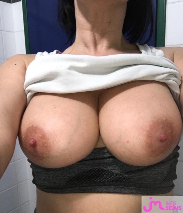 Photo des seins de Mounette