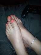 Photos des pieds de Buterfly,  Délicieuse soirée, lové contre Mon Homme.